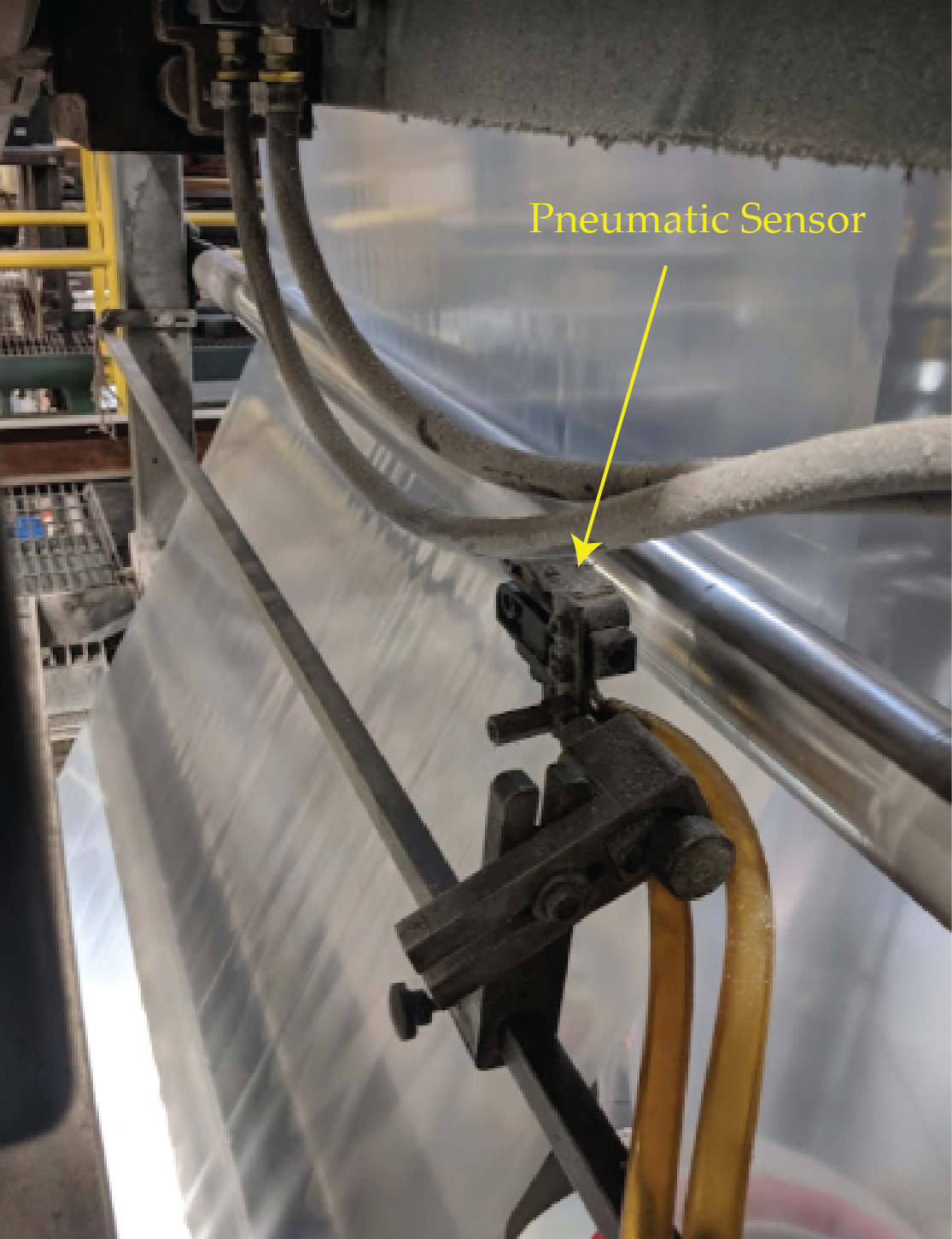 Pneumatic Web Edge Sensor