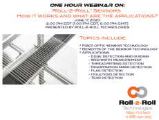 Webinar: Roll-2-Roll® Sensors: How it works and what are the applications?